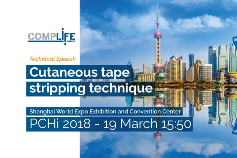 complife group at pchi: cutaneus tape stripping technique